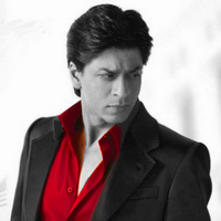 SRK in red. by soundofdrums