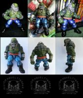 Maestro Hulk Marvel Universe 3 3/4 Custom Figure by ayelid