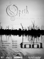 Opeth Tour Poster by a-designs