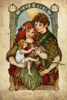 Tarot: The Sun by SceithAilm