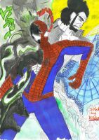 Spidery Crisis or thanks by kiknos