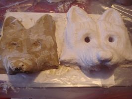 Wolf mask - Step 5 by Alicemonstrinho