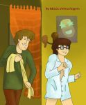 Velma visiting Shaggy by Missis-Velma-Rogers