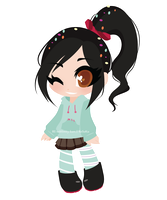 _.: Vanellope von Schweetz :._ by RE-sublimity-kun
