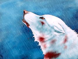 Let the rain wash all your pain away by xeebee