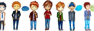 supernatural chibis by neko-loverx3
