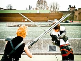 Cloud Strife Cosplay by EduardLuzhetskiy