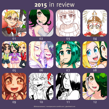 2015 in review by the-star-samurai