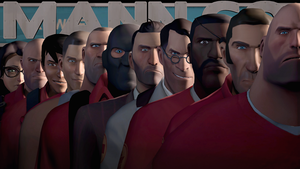 The Many Faces of Mann Co. by Moonlight109