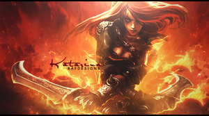 Katarina - LoL by rafdesigns
