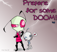 IZ: Prepare for some DOOM. by MimiMarieT