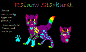 RAINBOW CAT AUCTION OPEN!! by iW-O-L-F