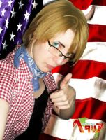 Alfred approve America by MischievousBoyAilime