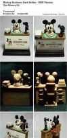 Mickey Business Card Holder - 1928 Version by sculptor101