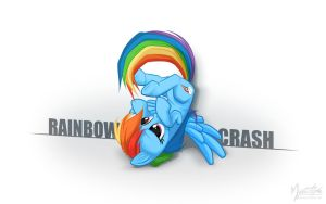 Rainbow Crash by mysticalpha