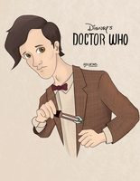 Disney's Doctor who by AJsCanvas