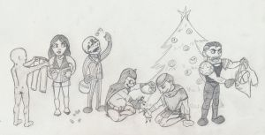 A Very Watchmen Christmas by Chemartist