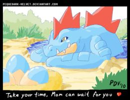 STUFFS .:FERALIGATR MOM:. by PEQUEDARK-VELVET