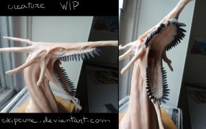 creature WIP by Sikipeune