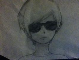 Dave strider by AnIdiotWithAComputer