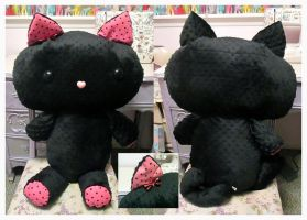 Giant PatterKitty Plush by ChibiWorks