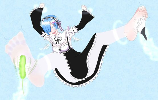Rem being tickled(remix) by a723547366
