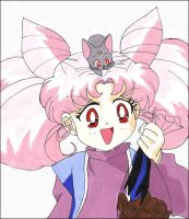 More Chibiusa by lina-inverse-