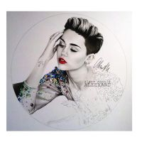 Miley Cyrus by aleexart