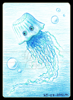 Jellyfish ACEO 03 by Siobhan68