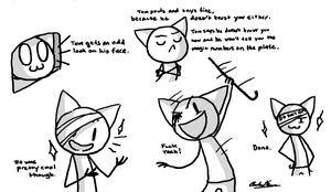 Tom Doodles by WhiteTigerCubMia