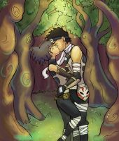 AnkoxZabuza - Forest by CrystallineEssence