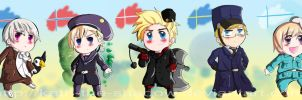 Nordic -chibi- Five by Kath-the-shadow