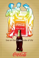 Coca-Cola Action Girls2 by Coca-Cola-ArtGallery