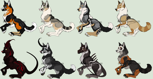 -Point adoptables 35- by Squiggy-Adoptables