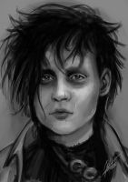 Edward Scissorhands by ARTdesk