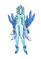Humanized Anivia -reference sheet- by Mad-projectNSFW