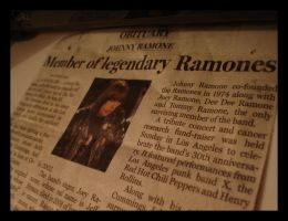 r.i.p. ramones by LOVErhymeswith