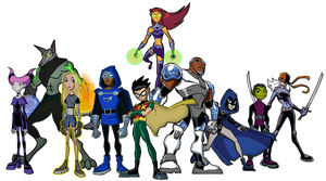 The New Teen Titans by Inkheart7