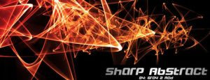 SHARP ABSTRACT by brushpsd