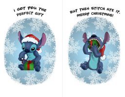 StitchMas Card by BBVixen