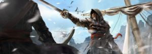 Assassin's Creed Black Flag by PapayouFR