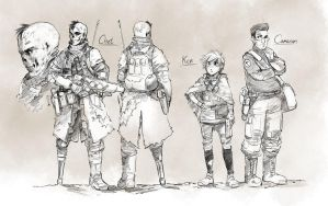 fallout-OCs by Psuede