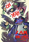 Seismitoad came in SPACE by Celesime