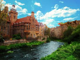 Water of Leith Manipulation by JPeiro