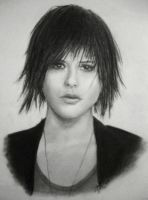 Kate Moennig press shot by BlueSun-sketches