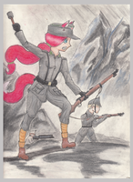 Battle on the Mountain by MiGpilot25