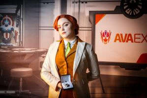 Rosalind Lutece cosplay by MadHatters-Wife
