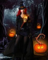 Witch of Halloween by tinca2