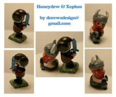 The Yogscast: Honeydew and Xephos by Skyelark