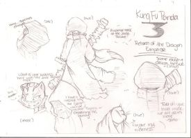 Storyboard render: KFP 3 FF Snow  Chapter I by Abezguaz